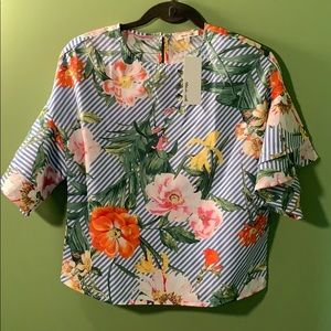 BRAND NEW tropical blouse!
